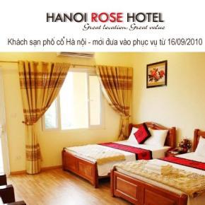 Hostelek és Ifjúsági Szállások - Hanoi Rose Hotel
