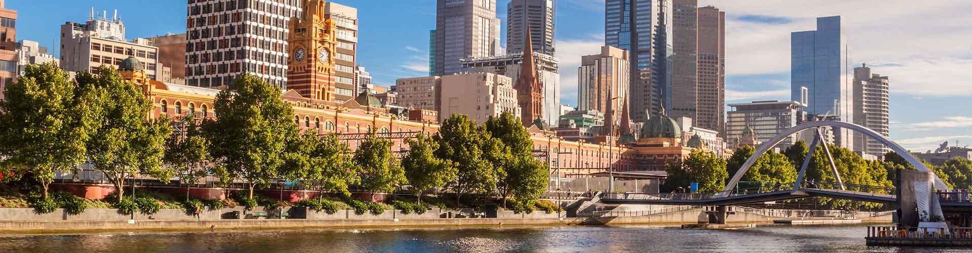 Melbourne - Ifjúsági Szállások Melbourne városrészen. Melbourne térképek, fotók, és ajánlások minden egyes Ifjúsági Szállásra: Melbourne