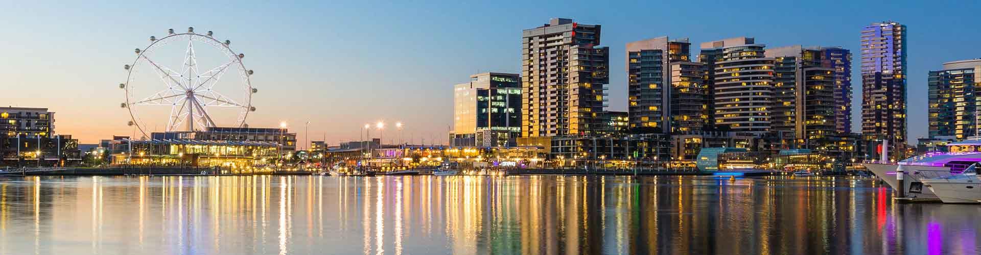 Melbourne - Ifjúsági Szállások Melbourneben. Melbourne térképek, fotók és ajánlások minden egyes ifjúsági szállásokra Melbourne-ben.