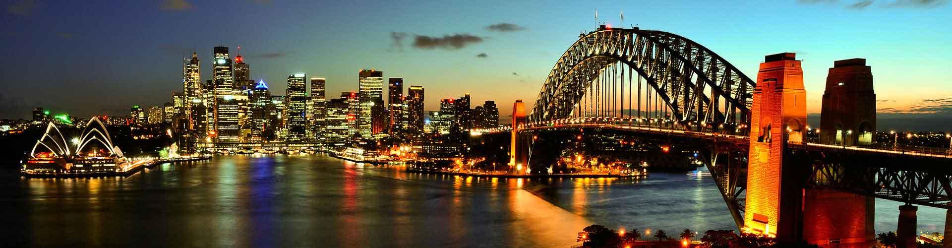 Sydney - Hotelek Kelet Sydney városrészen. Sydney térképek, fotók, és ajánlások minden egyes Sydney hotelről.