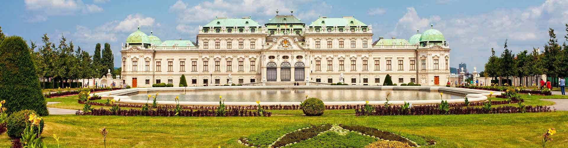Bécs - Ifjúsági Szállások Favoriten városrészen. Bécs térképek, fotók, és ajánlások minden egyes ifjúsági szállásra Bécs-ben