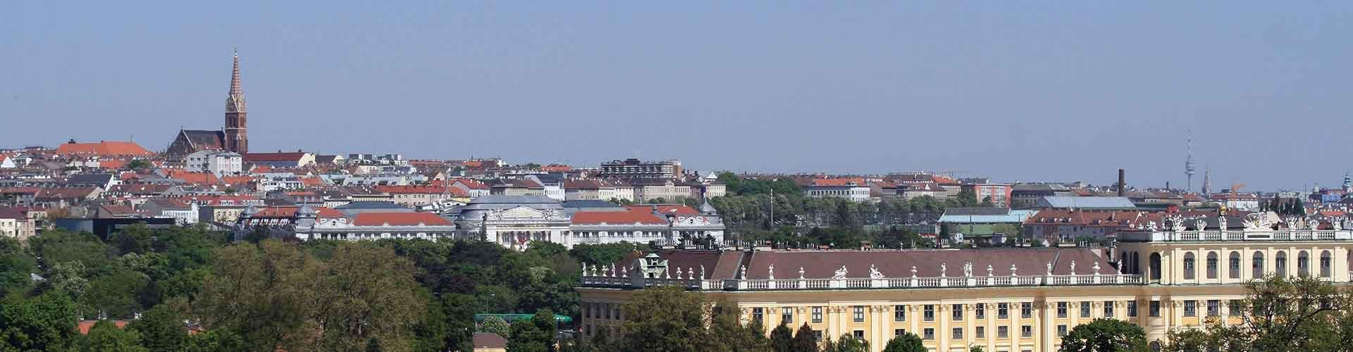Bécs - Hotelek Rudolfsheim-Fuenfhaus városrészen. Bécs térképek, fotók, és ajánlások minden egyes Bécs hotelről.