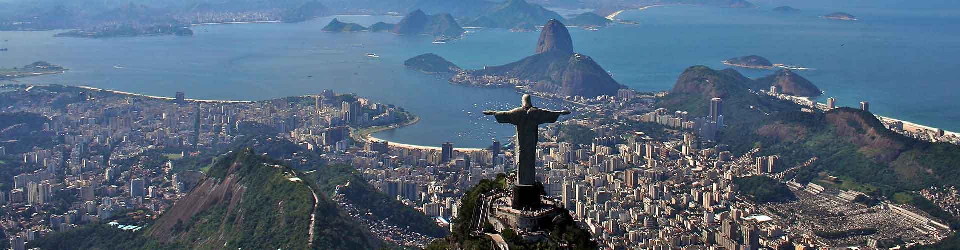 Rio de Janeiro - Ifjúsági Szállások Copacabana városrészen. Rio de Janeiro térképek, fotók, és ajánlások minden egyes ifjúsági szállásra Rio de Janeiro-ben