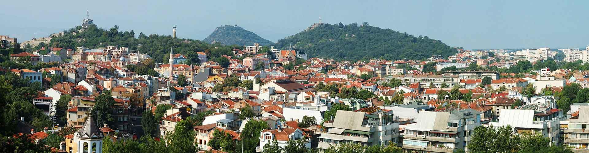 Plovdiv - Ifjúsági Szállások Rayon Központ városrészen. Plovdiv térképek, fotók, és ajánlások minden egyes ifjúsági szállásra Plovdiv-ben
