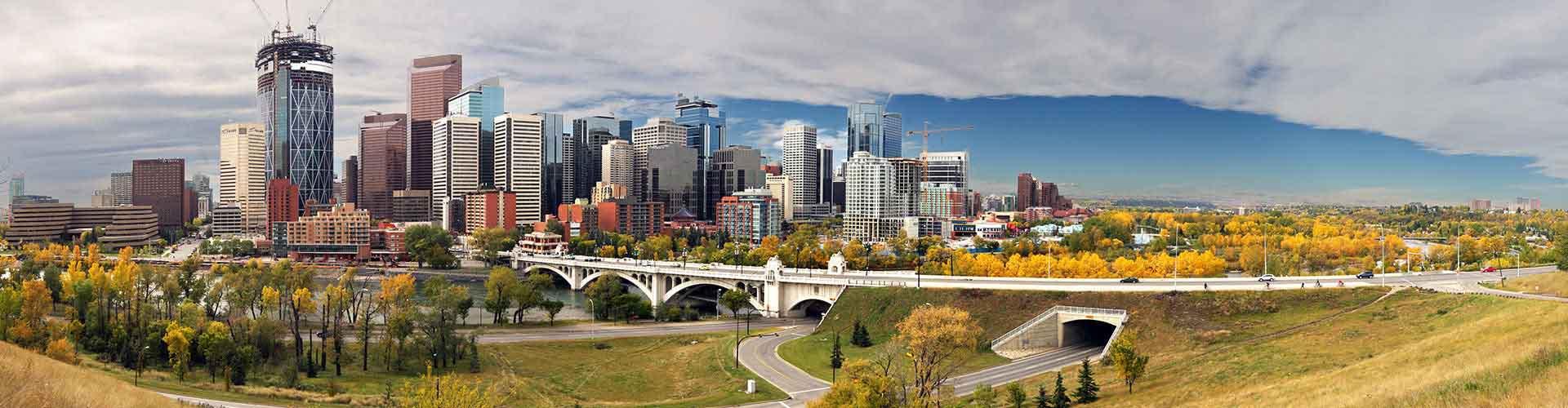 Calgary - Ifjúsági Szállások Kelet Belváros városrészen. Calgary térképek, fotók, és ajánlások minden egyes Ifjúsági Szállásra: Calgary