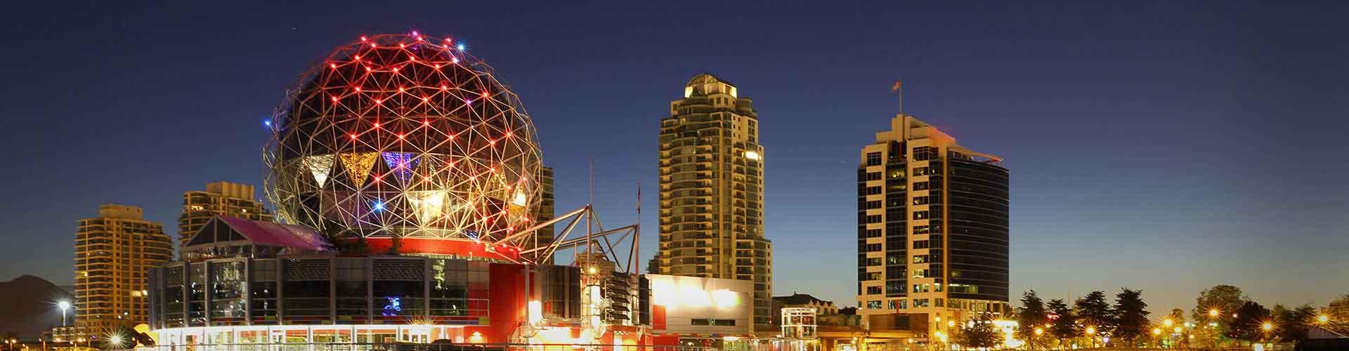 Vancouver - Ifjúsági Szállások Vancouverben. Vancouver térképek, fotók és ajánlások minden egyes ifjúsági szállásokra Vancouver-ben.