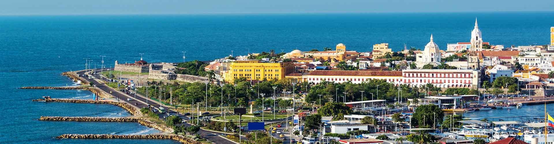 Cartagena de Indias - Ifjúsági Szállások Cartagena de Indiasben. Cartagena de Indias térképek, fotók és ajánlások minden egyes ifjúsági szállásokra Cartagena de Indias-ben.