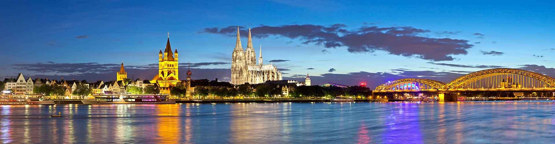 Köln - Ifjúsági Szállások Kölnben. Köln térképek, fotók és ajánlások minden egyes ifjúsági szállásokra Köln-ben.