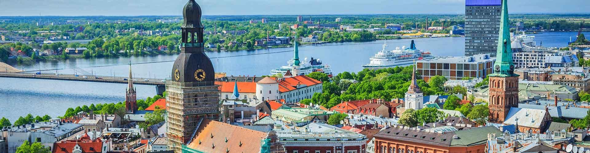 Riga - Lakosztályok Riga. Riga térképek, fotók és ajánlások minden egyes Riga lakosztályról.