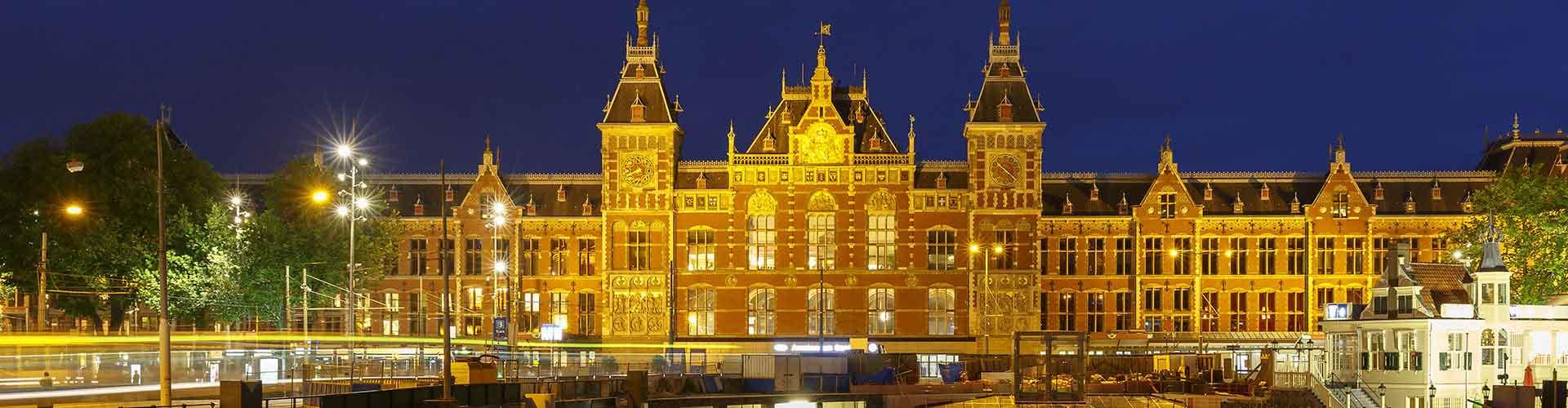 Amszterdam - Hotelek közel Amszterdam főpályaudvar . Amszterdam térképek, fotók és ajánlások minden egyes Amszterdam hotelről.