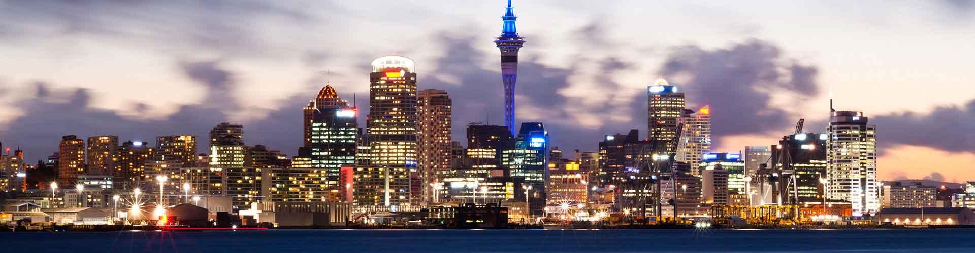 Auckland - Camping Auckland. Auckland térképek, fotók és ajánlások minden egyes Auckland campingról.