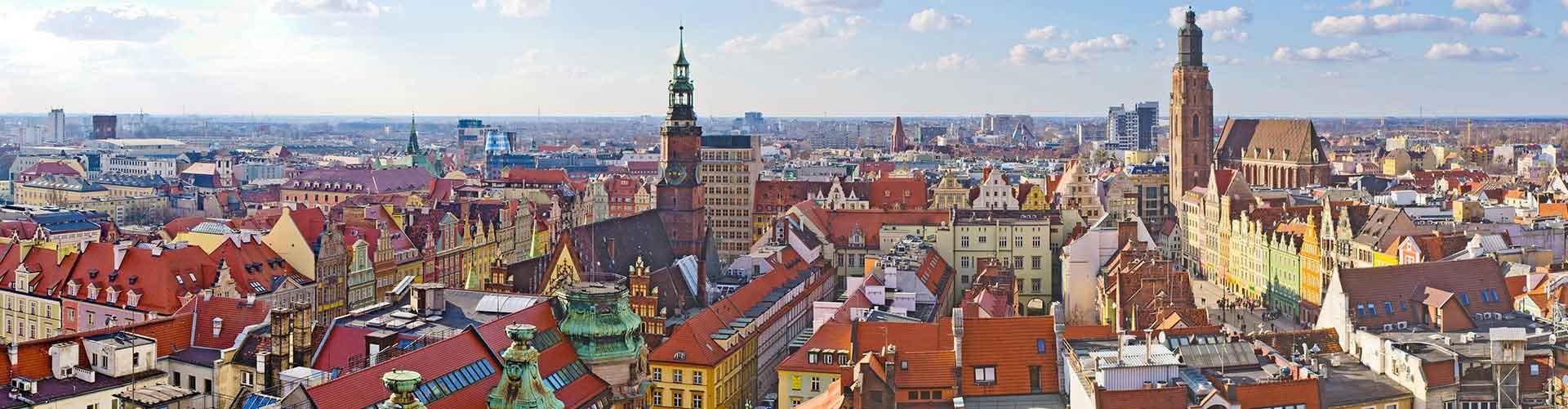 Wroclaw - Ifjúsági Szállások Wroclawben. Wroclaw térképek, fotók és ajánlások minden egyes ifjúsági szállásokra Wroclaw-ben.