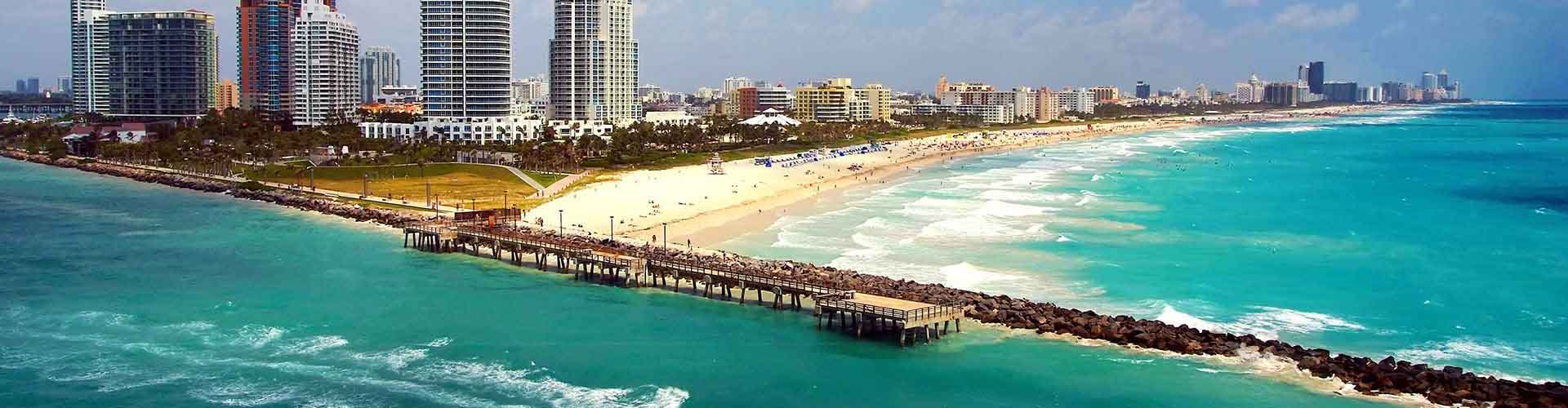 Miami - Lakosztályok Miami. Miami térképek, fotók és ajánlások minden egyes Miami lakosztályról.