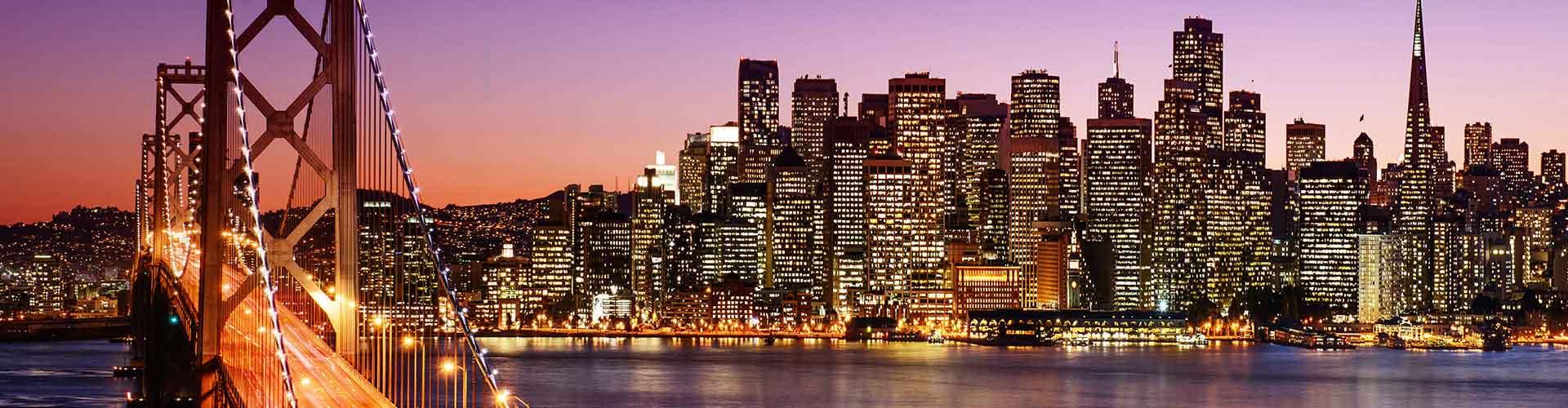 San Francisco - Ifjúsági Szállások San Franciscoben. San Francisco térképek, fotók és ajánlások minden egyes ifjúsági szállásokra San Francisco-ben.