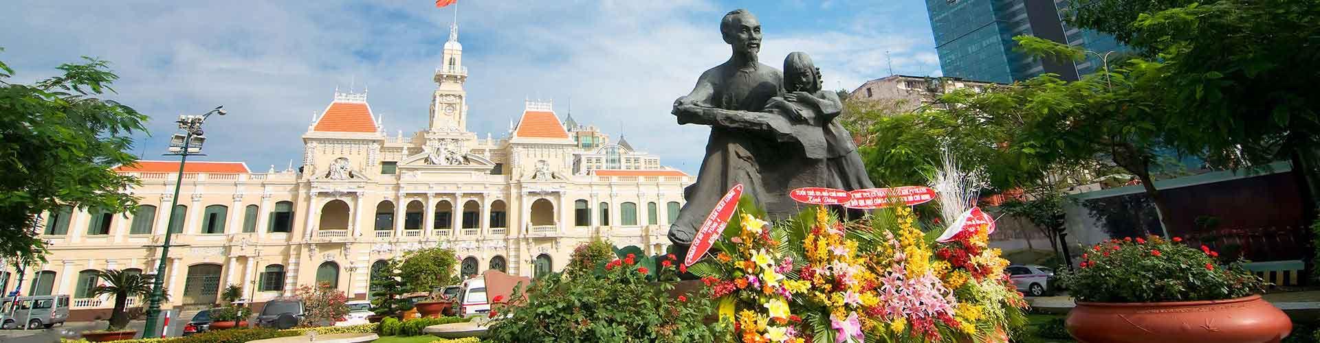 Ho Si Minh-város - Ifjúsági Szállások Ho Si Minh-városben. Ho Si Minh-város térképek, fotók és ajánlások minden egyes ifjúsági szállásokra Ho Si Minh-város-ben.