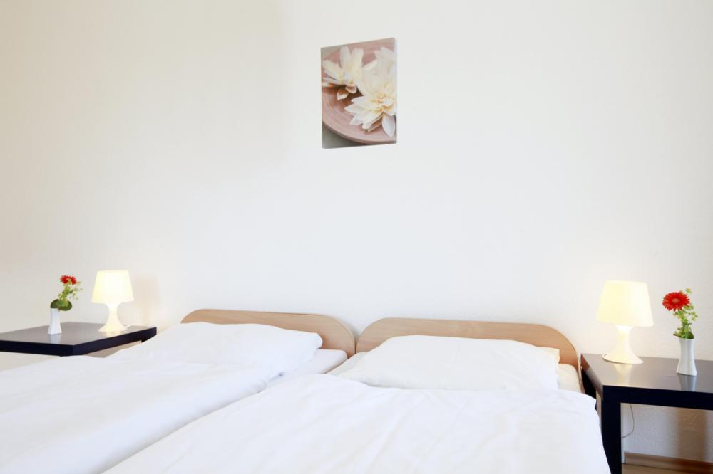 A & O München Hackerbrücke Hostel kétágyas szoba