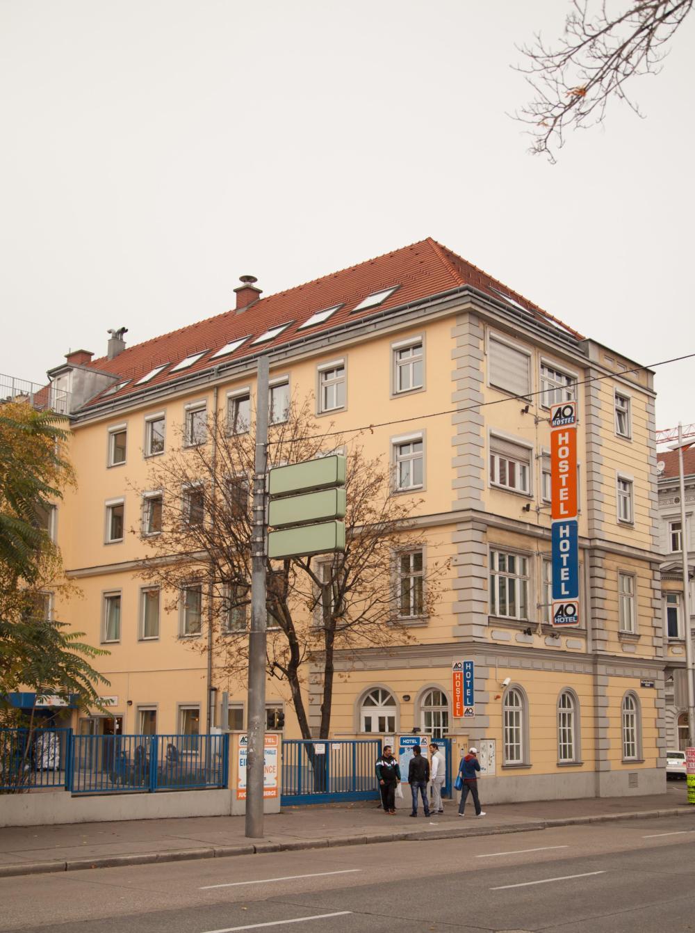 A & O Vienna Stadthalle Hostel épület