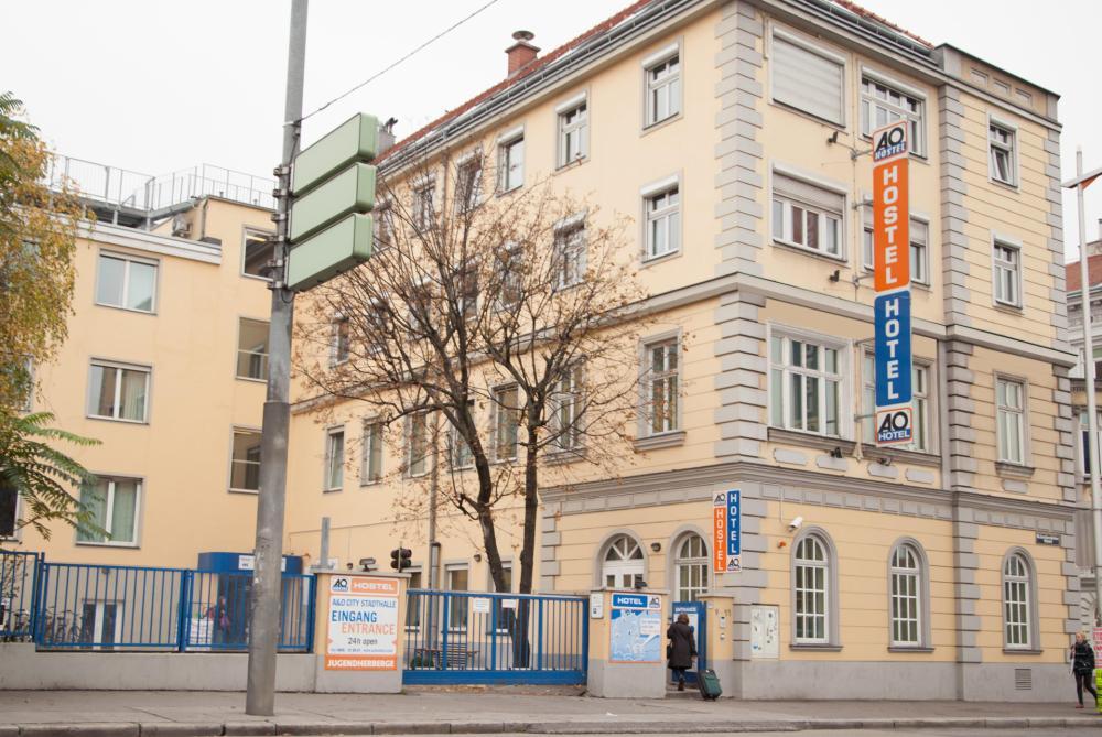 A & O Vienna Stadthalle Hostel homlokzat