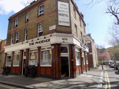Hostelek és Ifjúsági Szállások - Phoenix Hostel London
