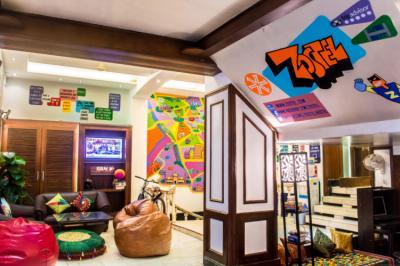 Hostelek és Ifjúsági Szállások - Zostel Delhi