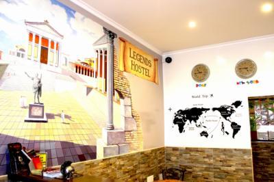 Hostelek és Ifjúsági Szállások - Legends Hostel Rome