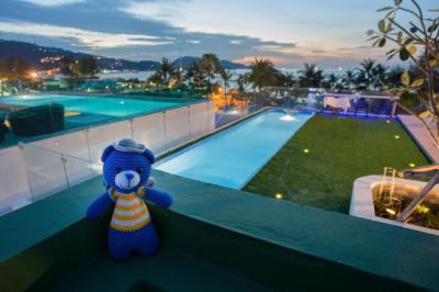 Hostelek és Ifjúsági Szállások - BearPacker Patong Hostel