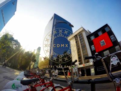 Hostelek és Ifjúsági Szállások - CDMX Hostel Art Gallery